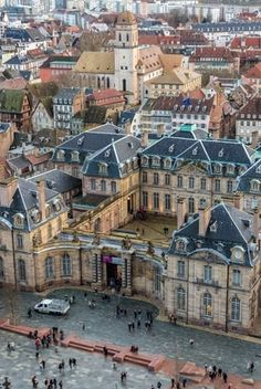 Palais Rohan à Strasbourg  Find Super Cheap International Flights to Strasboursg, France https://thedecisionmoment.com/cheap-flights-to-europe-france-strasbourg/