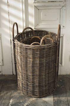 tall basket for yoga mat storage