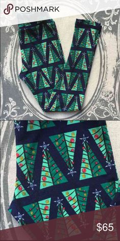 Lularoe Christmas Tree unicorn holiday leggings Tween size. Brand new, never even tried on, but no tag. I found in OS so didn't need these. Trying to recoup a portion of what I paid on eBay for these! LuLaRoe Pants Leggings