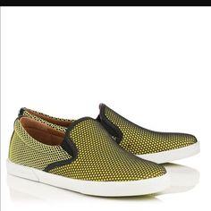 Jimmy Choo Demi Skate Slip On Sneakers - Yellow