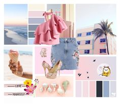"""""""life is a work of art"""" by iamdarine ❤ liked on Polyvore featuring Ricardo, Holika Holika, Topshop, Chicwish, Forever 21 and 2b bebe"""