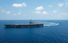 USS John C. Stennis (CVN 74) transits through the South China Sea.