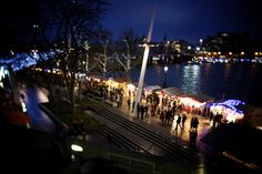 Best Christmas Markets in Europe - South Bank Christmas Market - Copyright  Aurelien Guichard. More on: http://www.europeanbestdestinations.com/christmas-markets/ #xmas  #christmas #London