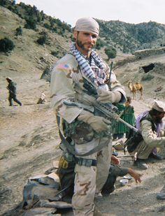 Mykel Hawke . Green Beret . Survival Expert . Bad ass