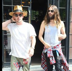 Shannon and Jared - NYC August 19, 2014 (Candids) - Credits to Owners