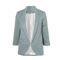 12 primavera mulheres cor doce fino Blazer com três quartos jaqueta de manga terno Blaser Feminino em Blazers de Roupas e Acessórios no AliExpress.com | Alibaba Group