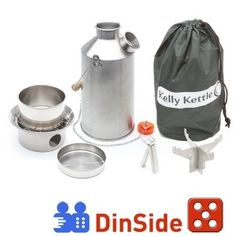 Kelly Kettle Large Stainless Steel Base Camp Basic Kit ** Learn more by visiting the image link. (This is an affiliate link) Camping Survival, Emergency Preparedness, Survival Gear, Camping Gear, Camping Hacks, Survival Stuff, Backpacking, Survival Quotes, Camping Trailers