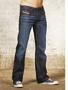 Diesel Zatiny 73N Mens Bootcut Jeans | Very.co.uk