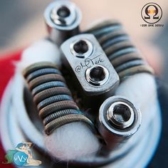 Parallel 5/4 wrap fused Clapton build | Dual coil | .09 Ω | New @twistedmesses Rda | Specs: 2-26g #AN80 cores wrapped in 36g #TN80 ran parallel to 2-28g #N80 cores parallel wrapped in 38g #TN80 and 40g #tmka1 | So happy these new rda's came in, tons of deck space with gigantic post holes stop by @vvvapes to pick one up | #subohm #beyondvape #buildislife #coilsmith #cleanbuilds #coil #coils #coilporn #clapton #coilart #coilskills #clapton #DripResponsibly #vape #vaping #vapeon #vapefam…