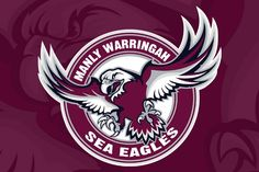 Show your support for the Manly Sea Eagles! #nrl #rugby #australia