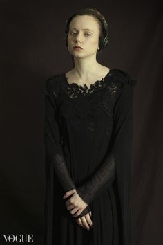 """""""How would have been"""" series by Romina Ressia. Classic portrait series with a modern twist."""