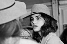 Alejandra Alonso. Backstage 080 Barcelona Fashion Week. A/W '14-'15.