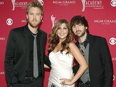 Lady Antebellum! Never saw them in concert but their music is so beautiful!