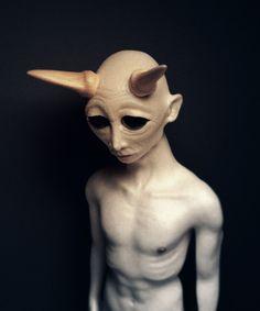 Devil boy by Łukasz Brzozowski, via Behance