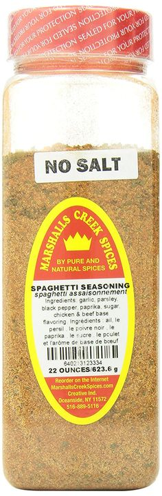 Marshalls Creek Spices Seasoning, Spaghetti, XL Size, 22 Ounce >>> Review more details here : Fresh Groceries