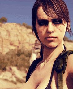 Quiet- Metal Gear Solid V The Phantom Pain. Metal Gear Solid Quiet, Metal Gear V, Metal Gear Solid Series, Mgs V, Gear Art, Saints Row, The Expendables, Stuff And Thangs, Mega Man