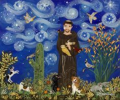 Because our products take care of people & the planet. st-francis-starry-night-sue-betanzos.jpg http://images.fineartamerica.com/images-medium-large/st-francis-starry-night-sue-betanzos.jpg