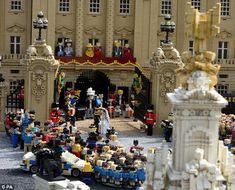 Royal Wedding in Legos!