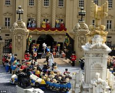 Everyone loves LEGO - and this detailed recreation of the Royal Wedding did nothing to stem the British media's love of the little yellow bricks.