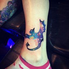 dragon watercolor tattoo - Google Search