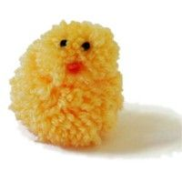 Pom Pom Chick - Kids Craft