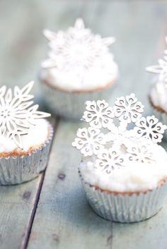 Kar cupcakeleri...