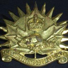 c65eaf41327b6 Canadian Army - The Westminster Regiment Hat   Cap Badge British Army  Regiments