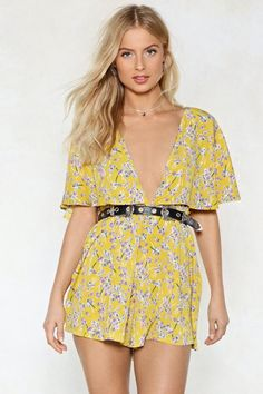 afb3700d7c4 Cape in Touch Floral Romper
