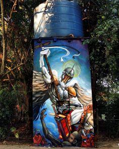 """647 curtidas, 3 comentários - Arte Sem Fronteiras (@artesemfronteiras) no Instagram: """"Artwork (spraypaint) by Will Ferreira  Instagram : @willartferreira Facebook : willferreiraartes…"""""""