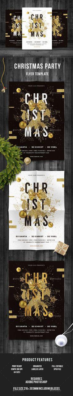 weihnachtsfeier flyer  veranstaltungsflyer download hier