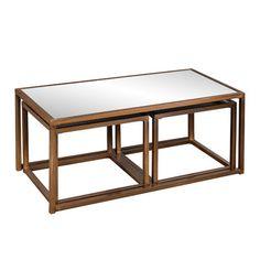 Wildon Home ® Marseille 3 Piece Nesting Coffee Table Set $256