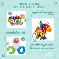 Brinquedos para bebês de 5 meses