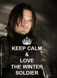 Keep Calm and Love the Winter Soldier!