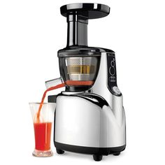 The Whisper Quiet Juicer - Hammacher Schlemmer - I need a juicer...bad.