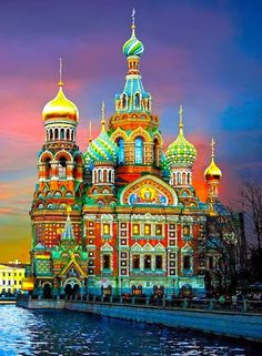 St. Basil's Cathedral, Moscow, RussiaRainbow / Arc-en-ciel /Arcobaleno /レインボー /Regenbogen / Радуга : FOSTERGINGER @ Pinterest
