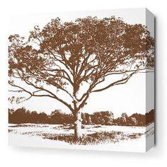 Inhabit Tree Stretched Wall Art | 2Modern Furniture & Lighting