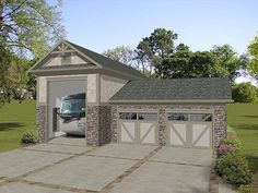 1000 images about dream combo garage and exercise pool on for Shop house combination plans