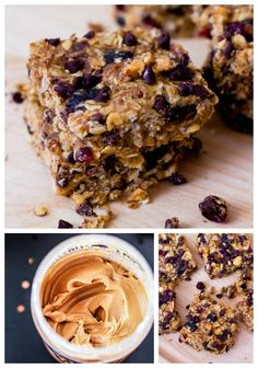 Sooooo good. I used Almond Butter Instead of peanut butter and they were awesome. Very filling... great quick breakfast or afternoon snack.
