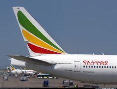Ethiopian Airlines Boeing 777-260/LR @ ADD