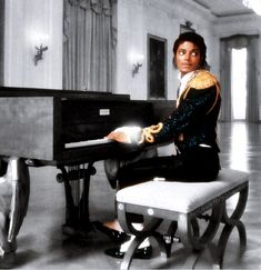 80's MJ at the piano. Michael Jackson   ~You Can Do It 2. http://www.zazzle.com/posters?rf=238594074174686702