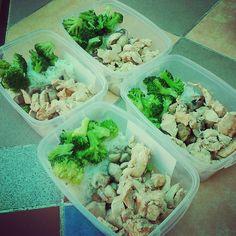 #Food #Healthy #chicken #broccoli