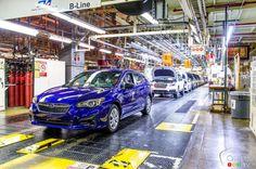 """The First """"American"""" Subaru is Born!"""