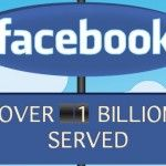 facebook hits one billion users