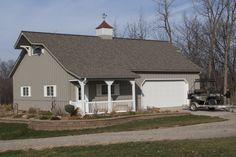 Morton Buildings custom home in Morning Sun, Iowa.