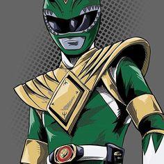Go Green Ranger Go. #SonGokuKakarot