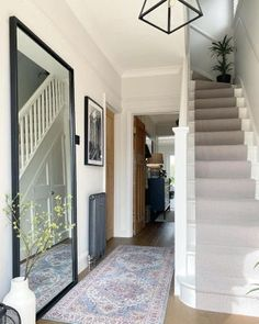 Narrow Staircase, House Staircase, Stairs, Home Bedroom, Home Living Room, Master Bedroom, 1930s Semi Detached House, 1930s House Interior, 1930s House Renovation