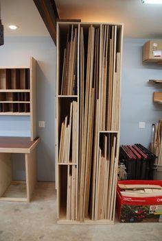Sheet Stock Storage - by WoodScrap @ LumberJocks.com ~ woodworking community