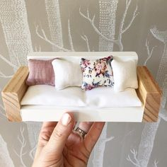 "589 Gostos, 33 Comentários - Whimsy Woods Designs. (@whimsy_woods) no Instagram: ""This sweet little couch is on it's way home. """