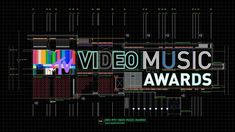 MTV Video Music Awards Montage' This Is Not Official Design. It's My Personal Project. Use Photoshop Illustrate After Effects Cinema Mtv Video Music Award, Music Awards, Mtv Music, Motion Design, Motion Logo, Channel Branding, Id Design, Graphic Design, Mtv Videos