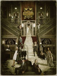 american horror story poster hotel